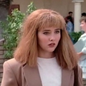 Brenda Walsh and me: living parallel lives